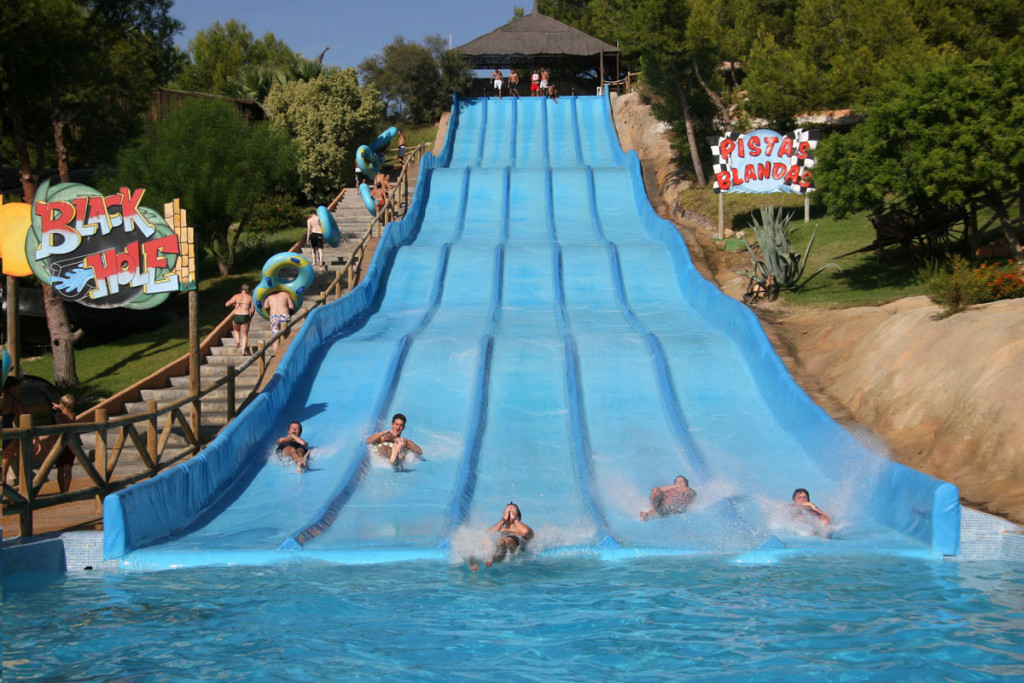 Aqualandia Reisetips Spania med barn