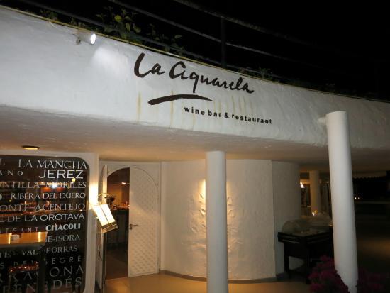 La Aquarela restaurant Gran Canaria