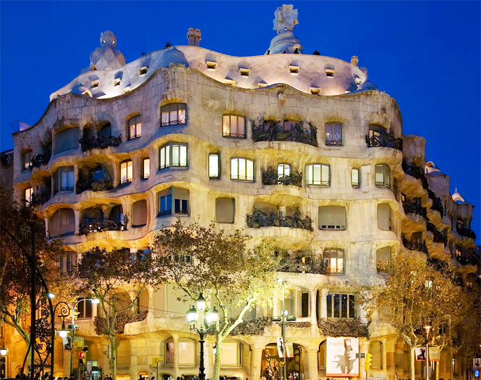 La Pedrera i Barcelona