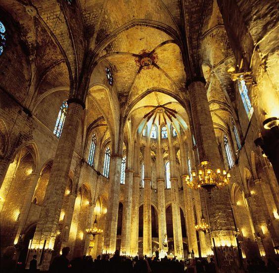 Santa Maria Kirke i Barcelona