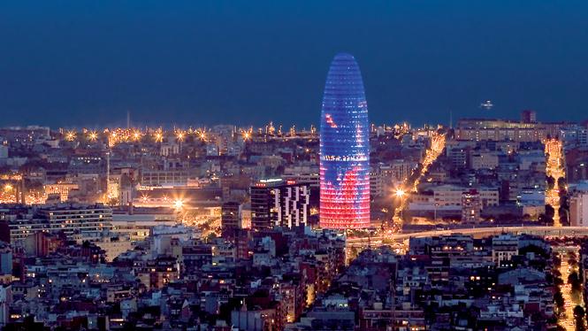 Torre Agbar i Barcelona