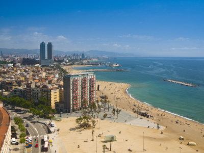 La Barceloneta i Barcelona