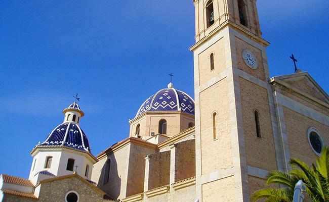 Kirken i Altea