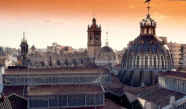 Central Market i Valencia