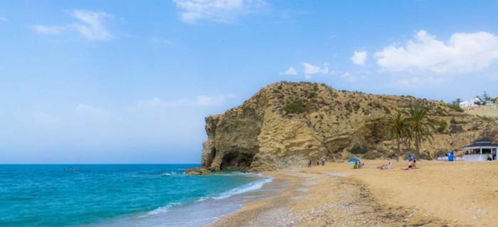 Stranden Playa el Paraiso i Villajoyosa