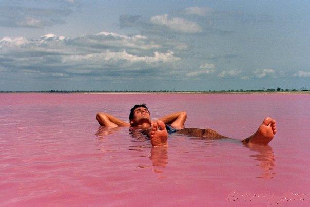 Saltsjøen i Torrevieja