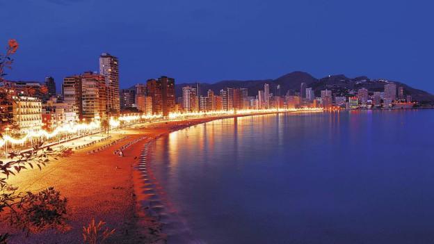 Severdigheter i Benidorm i Spania