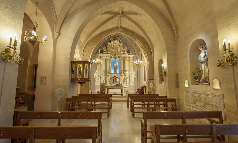 Iglesia antigua de Calpe