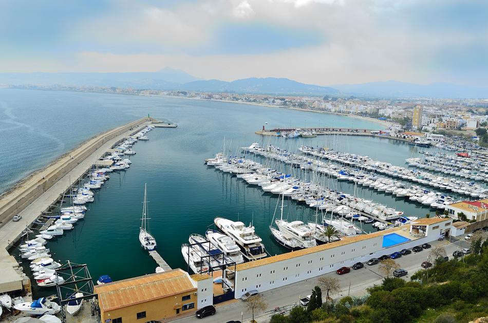 Havnen i Javea