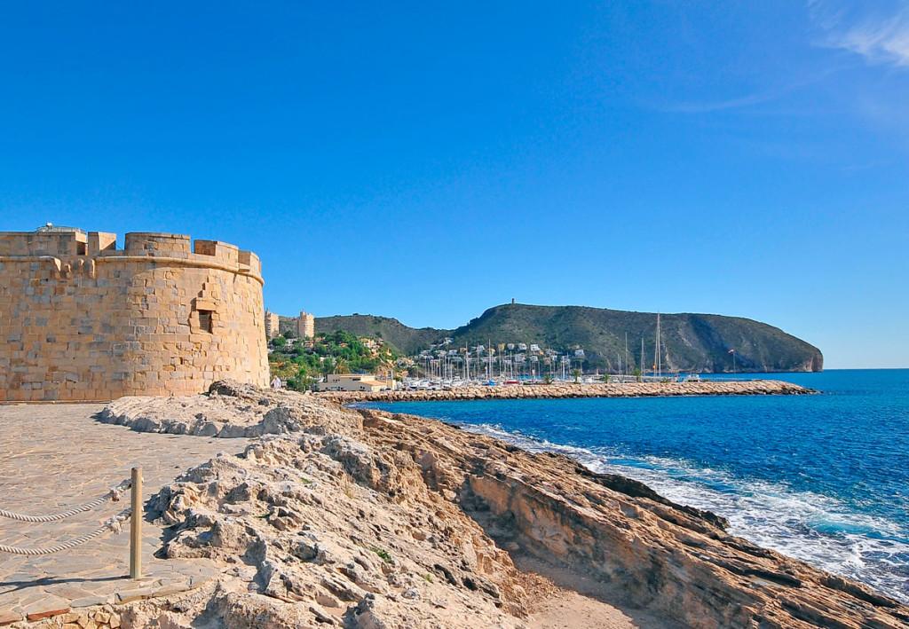 Slottet Castillo de Moraira