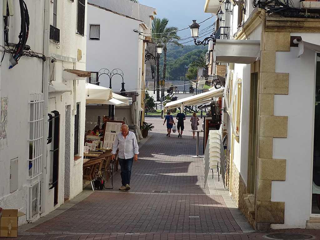 Severdigheter Moraira old town