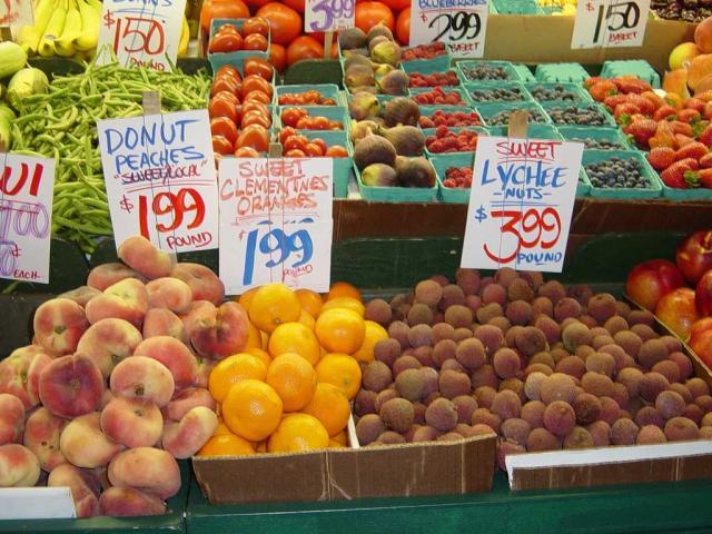 Fredagsmarkedet i Moraira