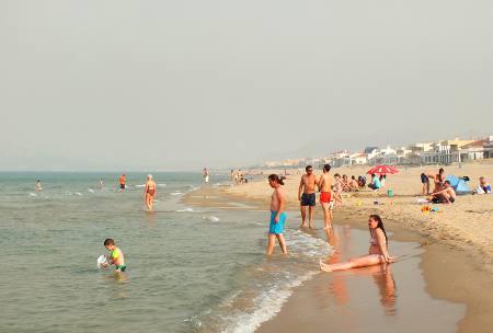 Strand i Oliva Spania