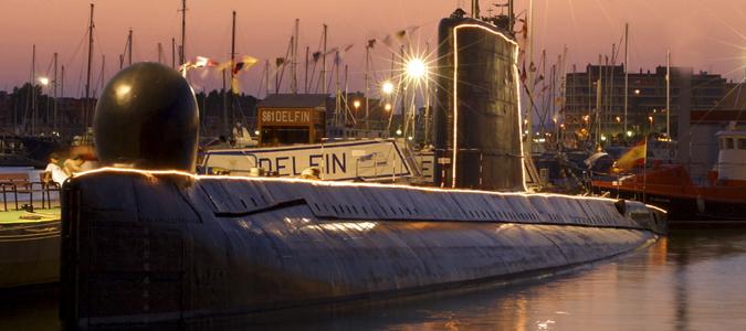Museo Submarino s-61 Delfin i Torrevieja