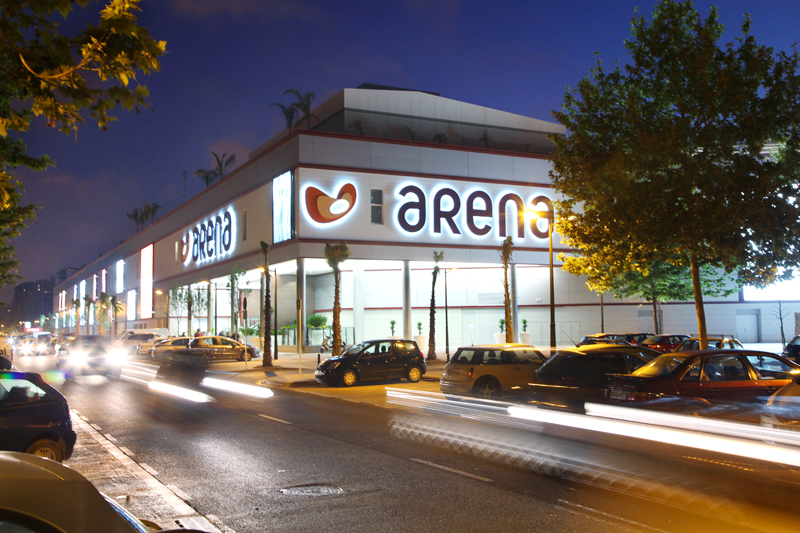 Arena Shopping Centre i Valencia