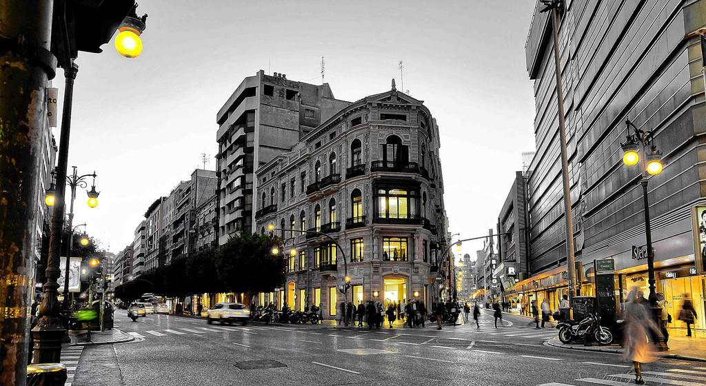 Handlegater i Valencia