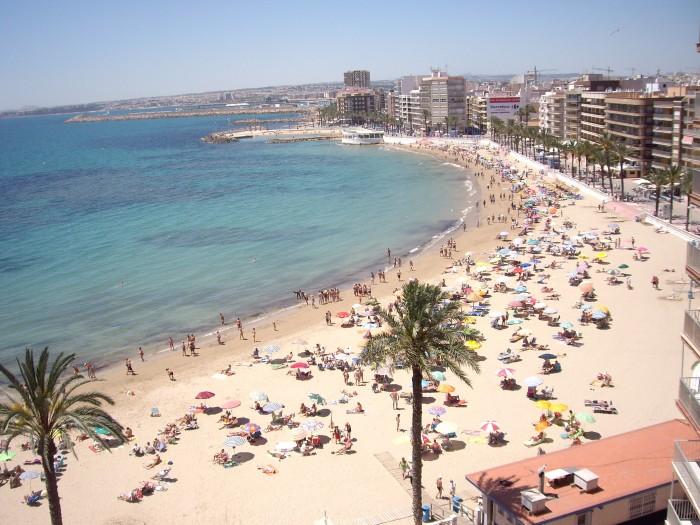 Playa del Cura i Torrevieja