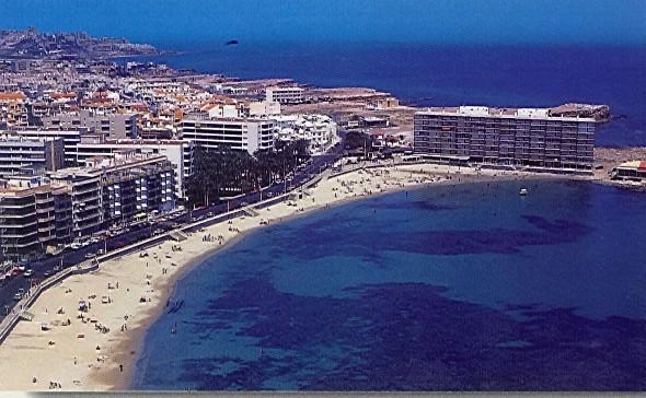 Playa de los Locos i Torrevieja