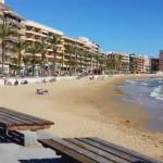 Stranden Playa del Cura i Torrevieja