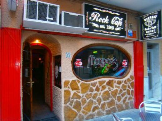 Monroes Rock Cafe i Torrevieja