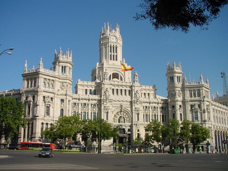 Castellana distrikt i Madrid