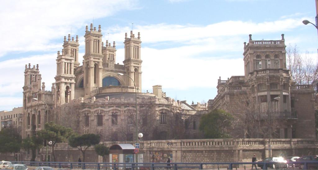 Chamberi distriktet i Madrid