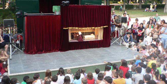 Puppet Theatre i Madrid