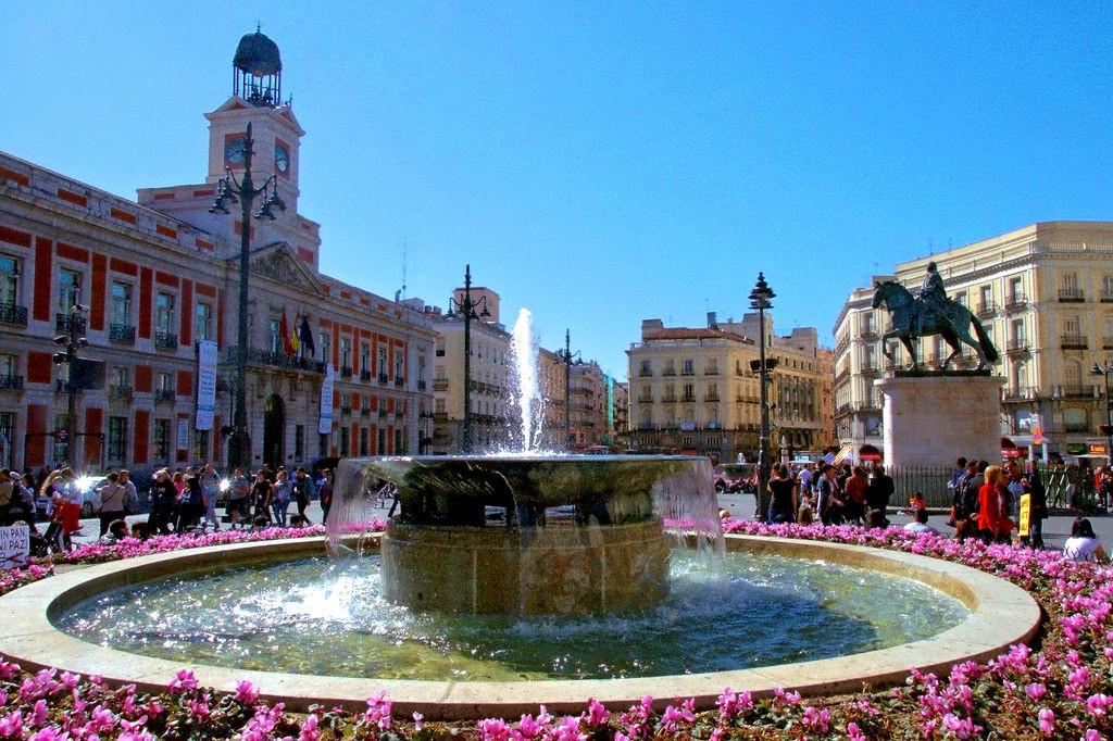 Gamlebyen i Madrid