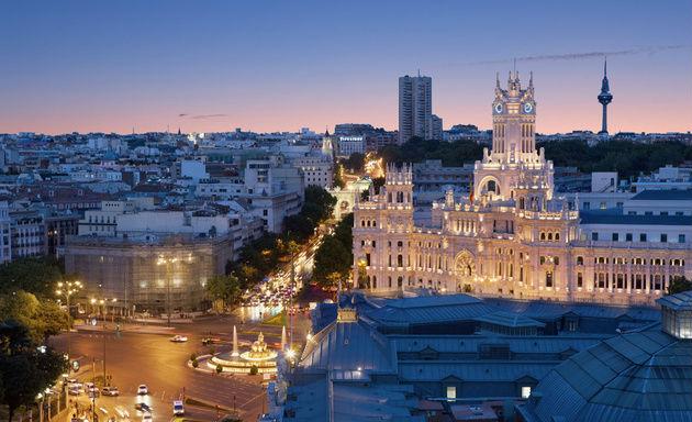 Klima i Madrid
