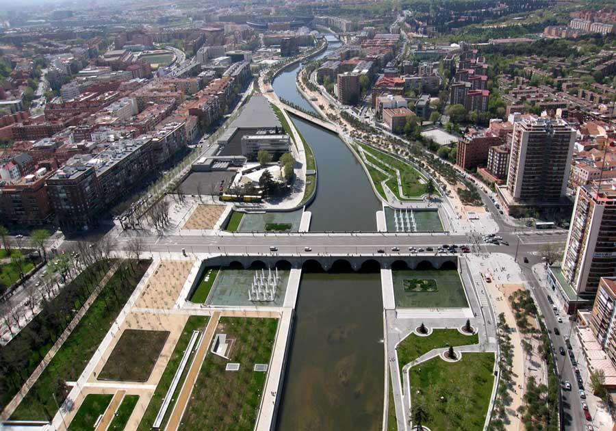Distrikt Rio Park i Madrid