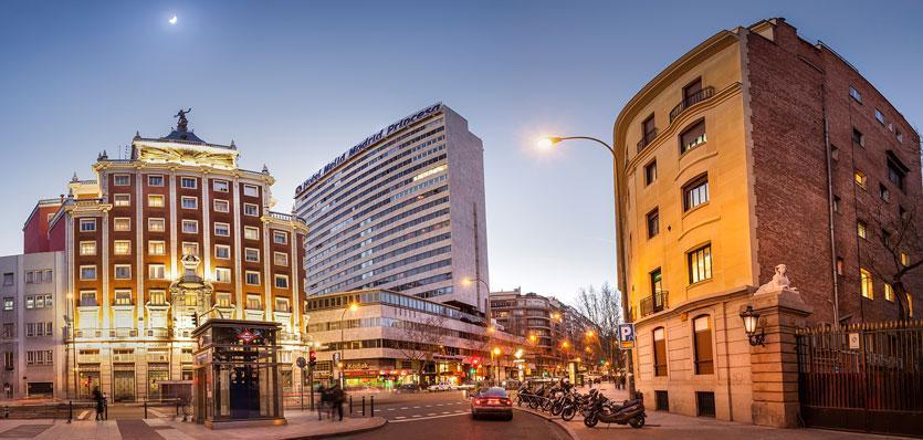 Princesa distriktet i Madrid