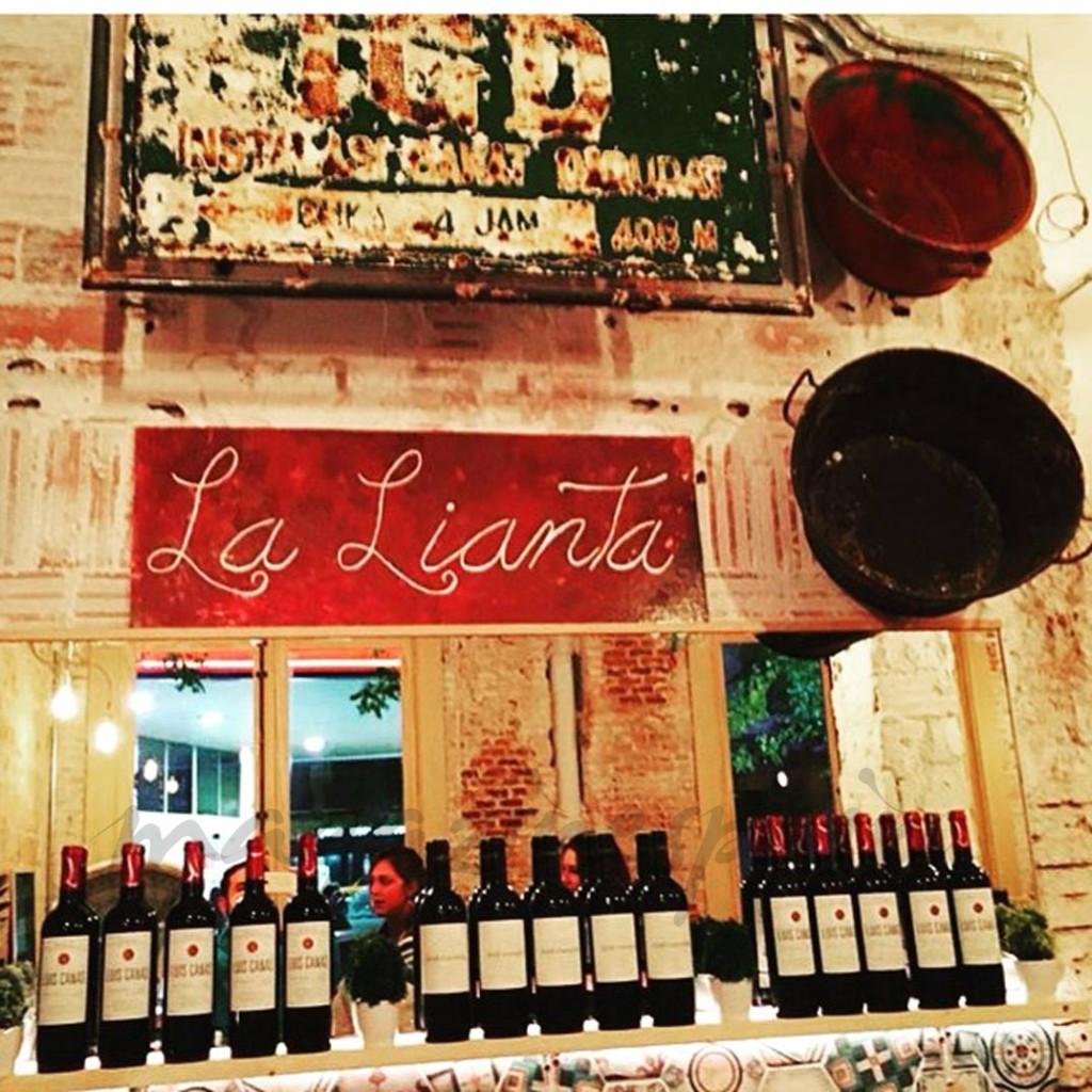 Restaurant La Lianta i Madrid