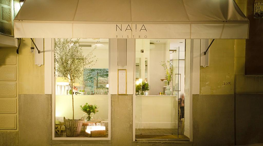 Restaurant Naia Bistro i Madrid
