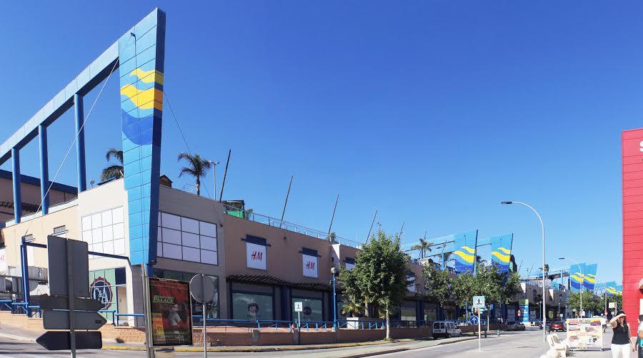 La Marina shopping i Benidorm