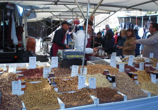 Markedet i Albir