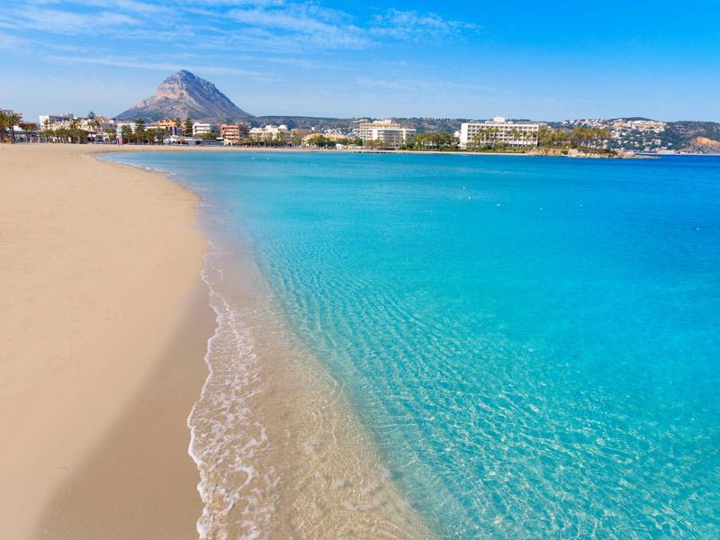 Arenal Beach i Valencia
