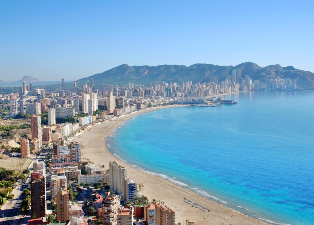 Levante Beach i Benidorm Valencia