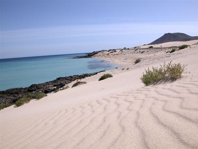 Playa l`aigua blanca i Oliva