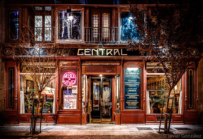 Cafe Central i Madrid