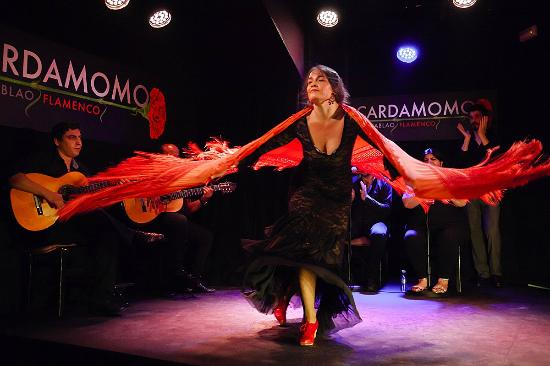 Cardamono Tablao Flamenco i Madrid