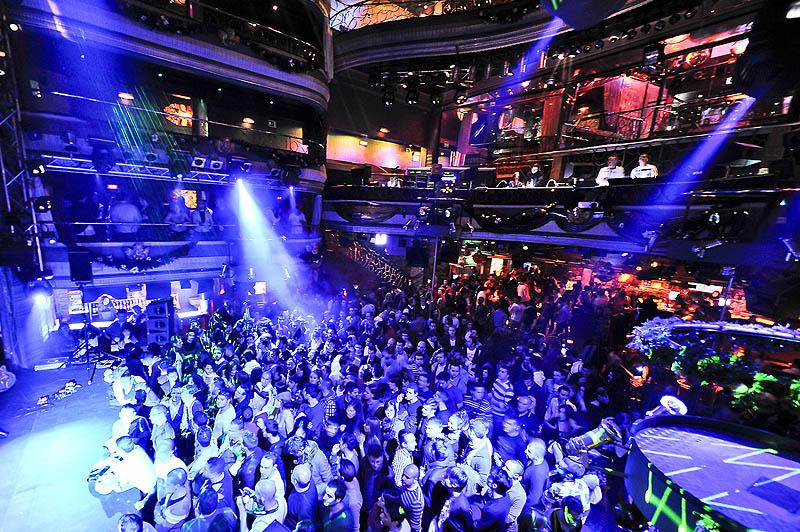 Nattklubb Kapital i Madrid