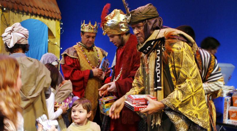 Fiesta Benidorm de hellige tre kongers dag