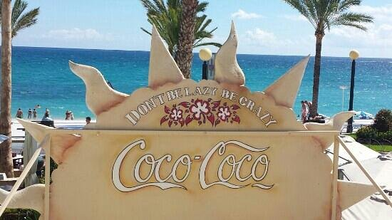 Coco Loco Beach Bar i Albir