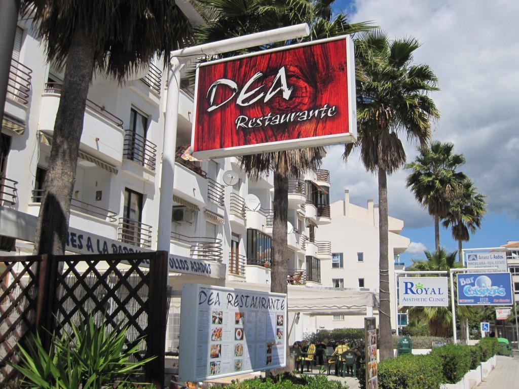 Restaurant DEA i Alfaz del Pi