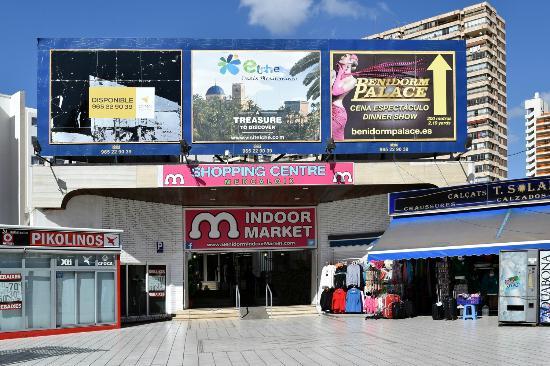 Innendørs markedet i Benidorm