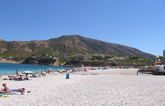 La playa del Albir