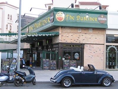Dubliner Irish Pub i Alfaz del Pi