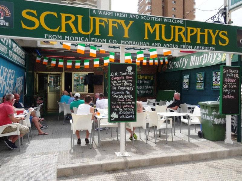 Scruffy Murphys i Benidorm