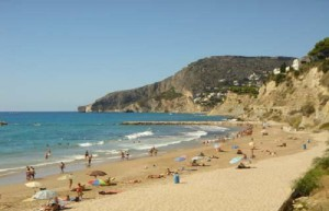 De beste strendene i Calpe i Spania