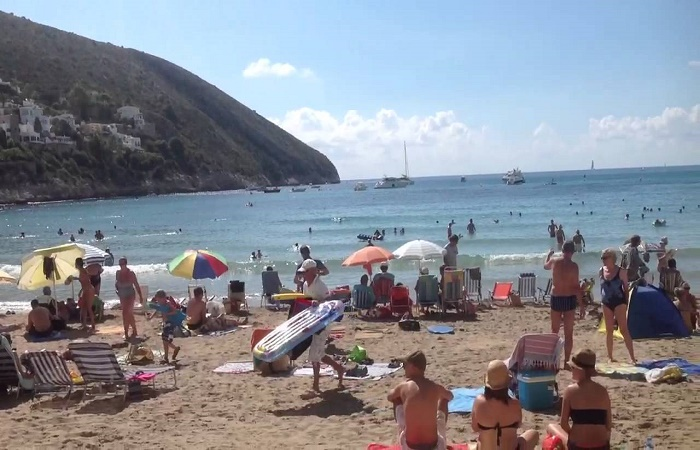 Klimaet i Moraira i Spania